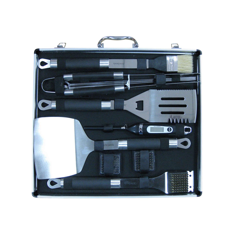 Buyjohn Lewis 14 Piece Bbq Tool Set Online At Johnlewiscom
