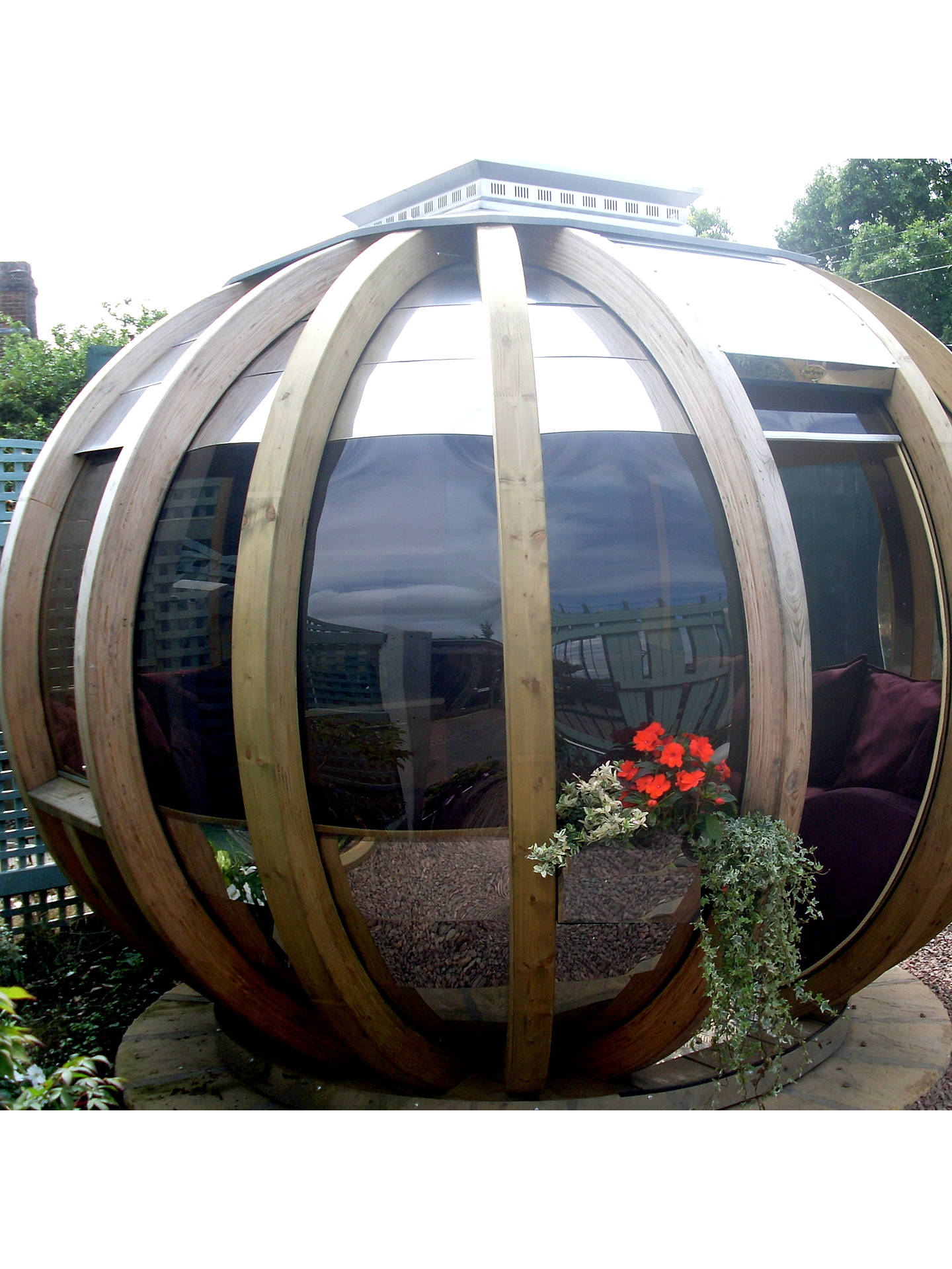 Buy Farmer's Cottage Deluxe Rotating Summer House Garden Pod Online at johnlewis.com