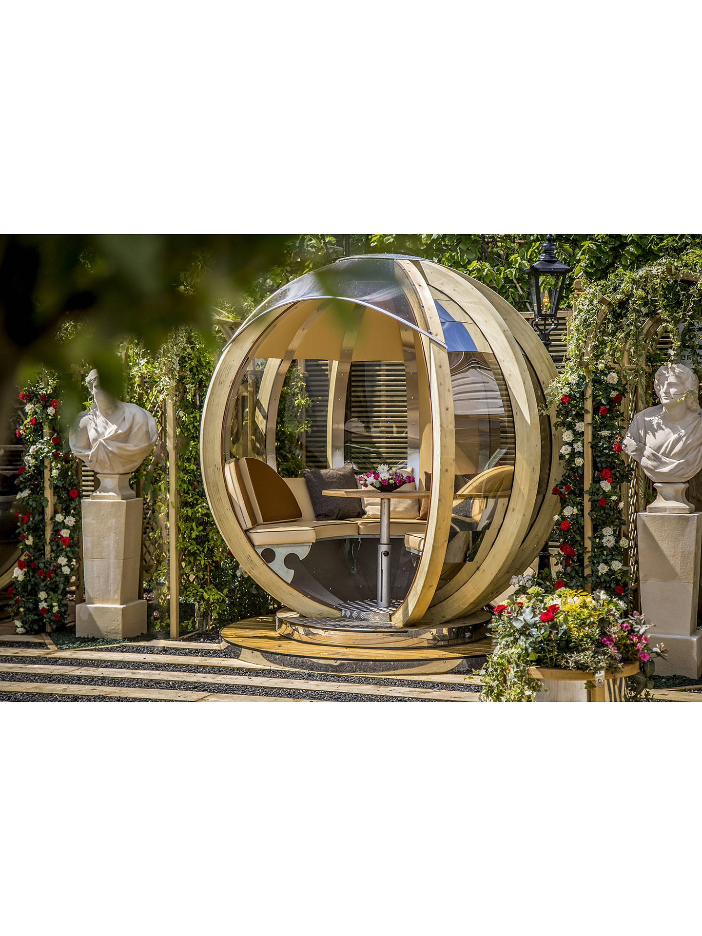 Farmer S Cottage Rotating Seated Garden Pod At John Lewis Partners