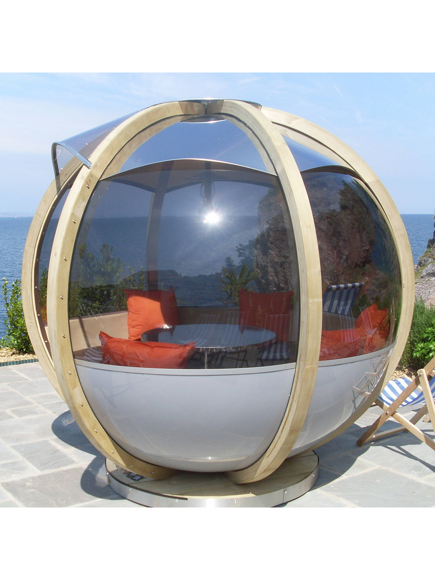 BuyFarmer's Cottage 7 Seater Rotating Garden Pod Online at johnlewis.com