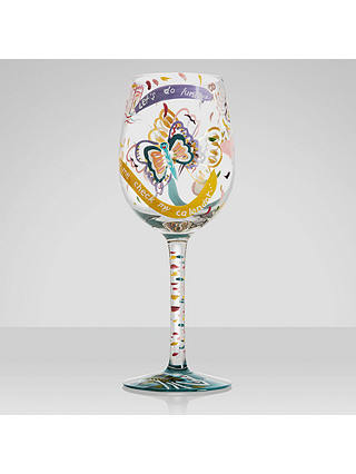 Buy Lolita Social Butterfly Wine Glass Online at johnlewis.com