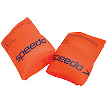 Buy Speedo Junior Roll Up Arm Bands, Orange, 2-12 Years Online at johnlewis.com