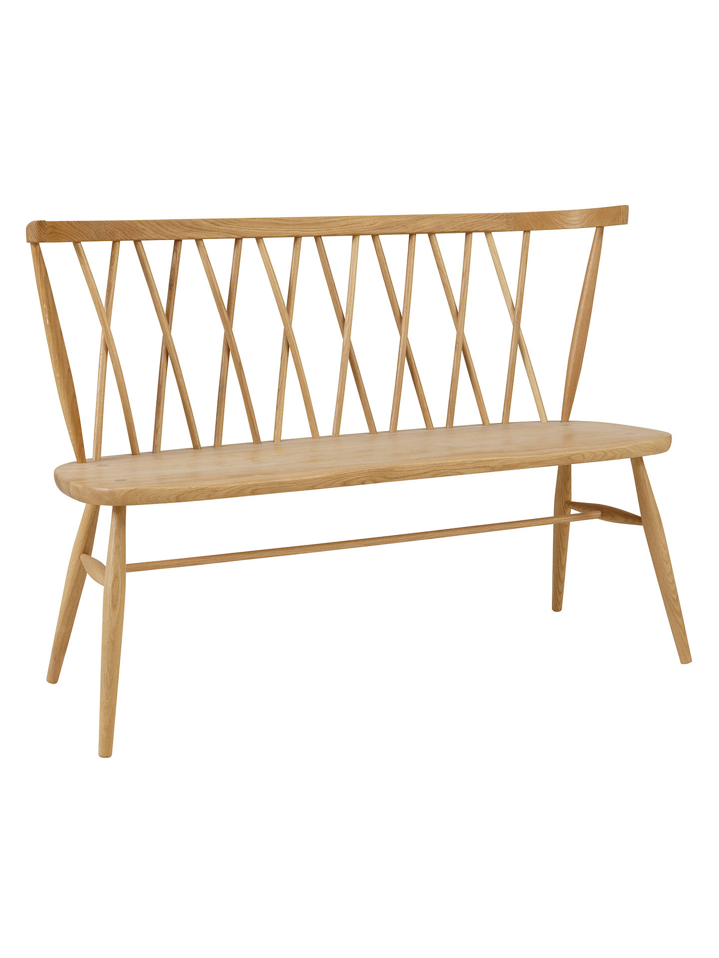 Pleasing Ercol For John Lewis Chiltern 3 Seater Dining Bench Light Alphanode Cool Chair Designs And Ideas Alphanodeonline