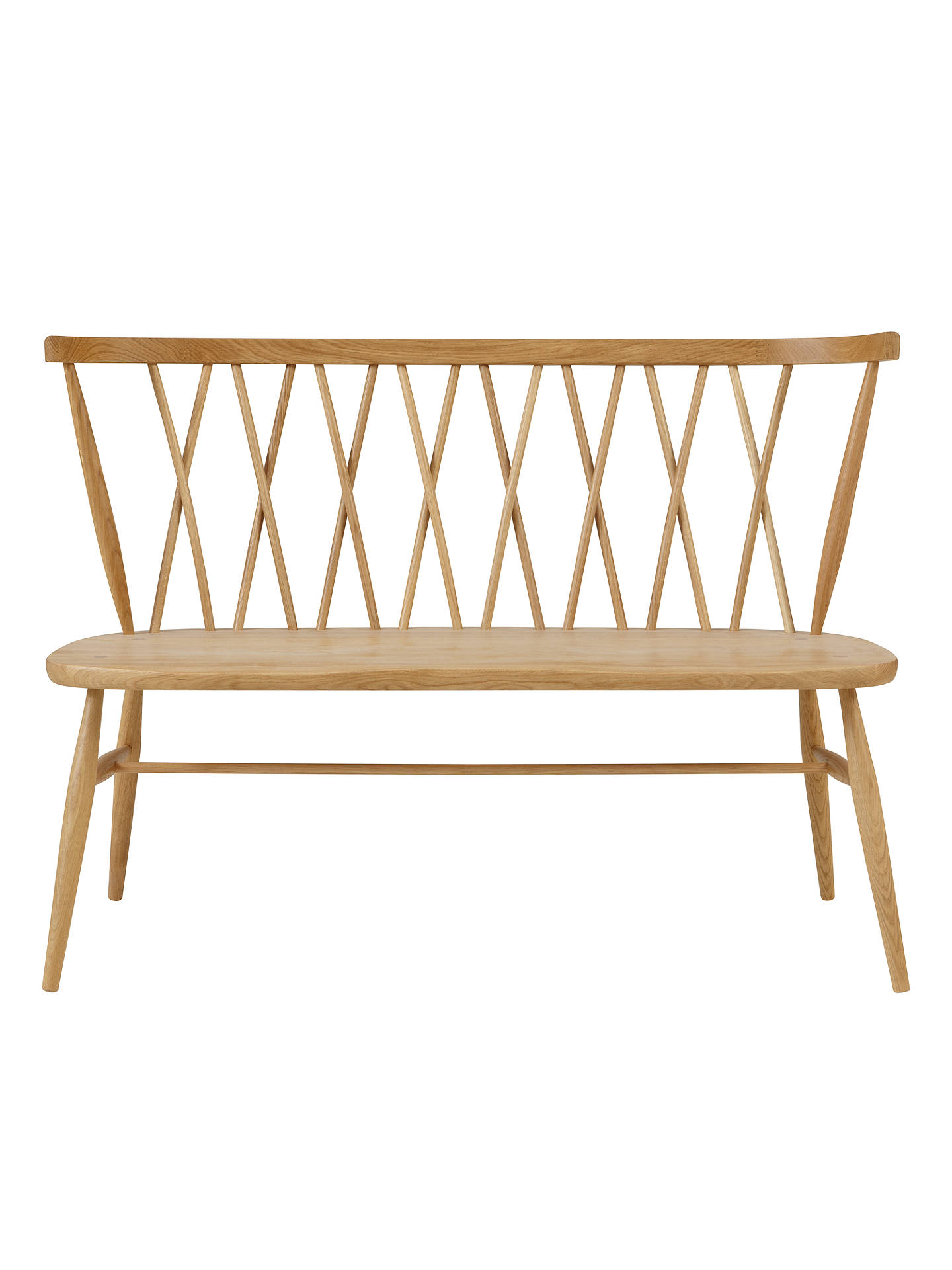Terrific Ercol For John Lewis Chiltern 3 Seater Dining Bench Light Alphanode Cool Chair Designs And Ideas Alphanodeonline