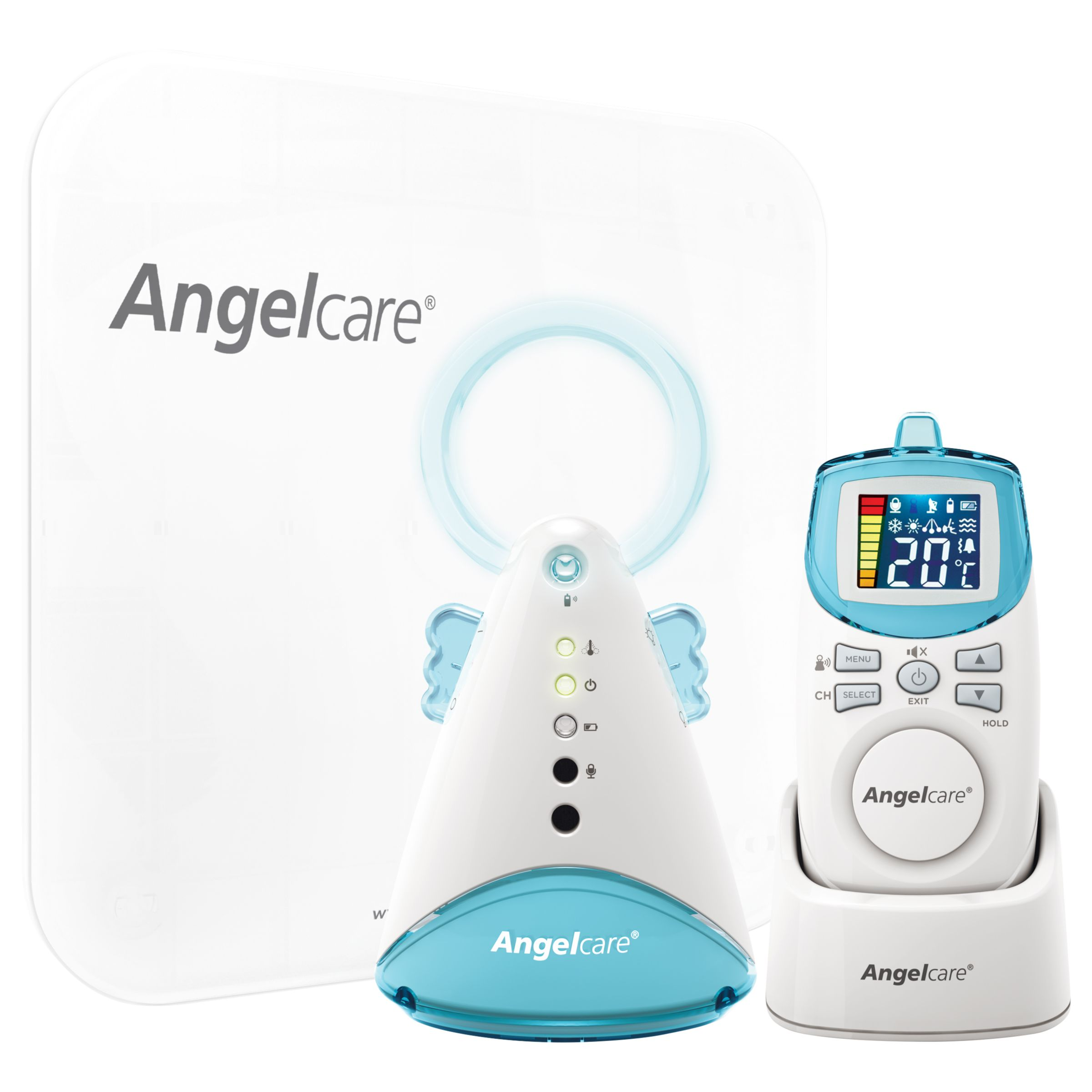 Angelcare Movement And Sound Monitor Ac401 At John Lewis