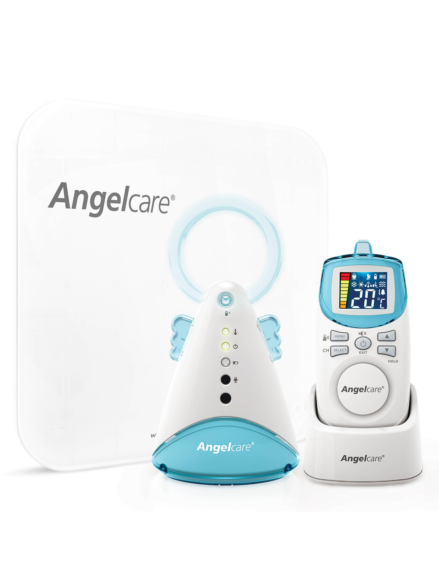 Buy Angelcare Movement and Sound Monitor AC401 Online at johnlewis.com