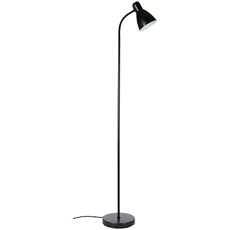 Buy john lewis the basics brandon floor lamp black john for John lewis floor lamp reading