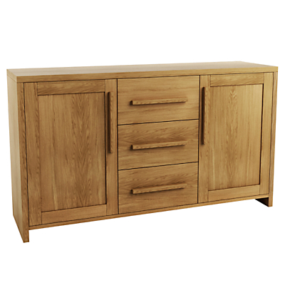 Product photo of John lewis henry 2 door 3 drawer sideboard