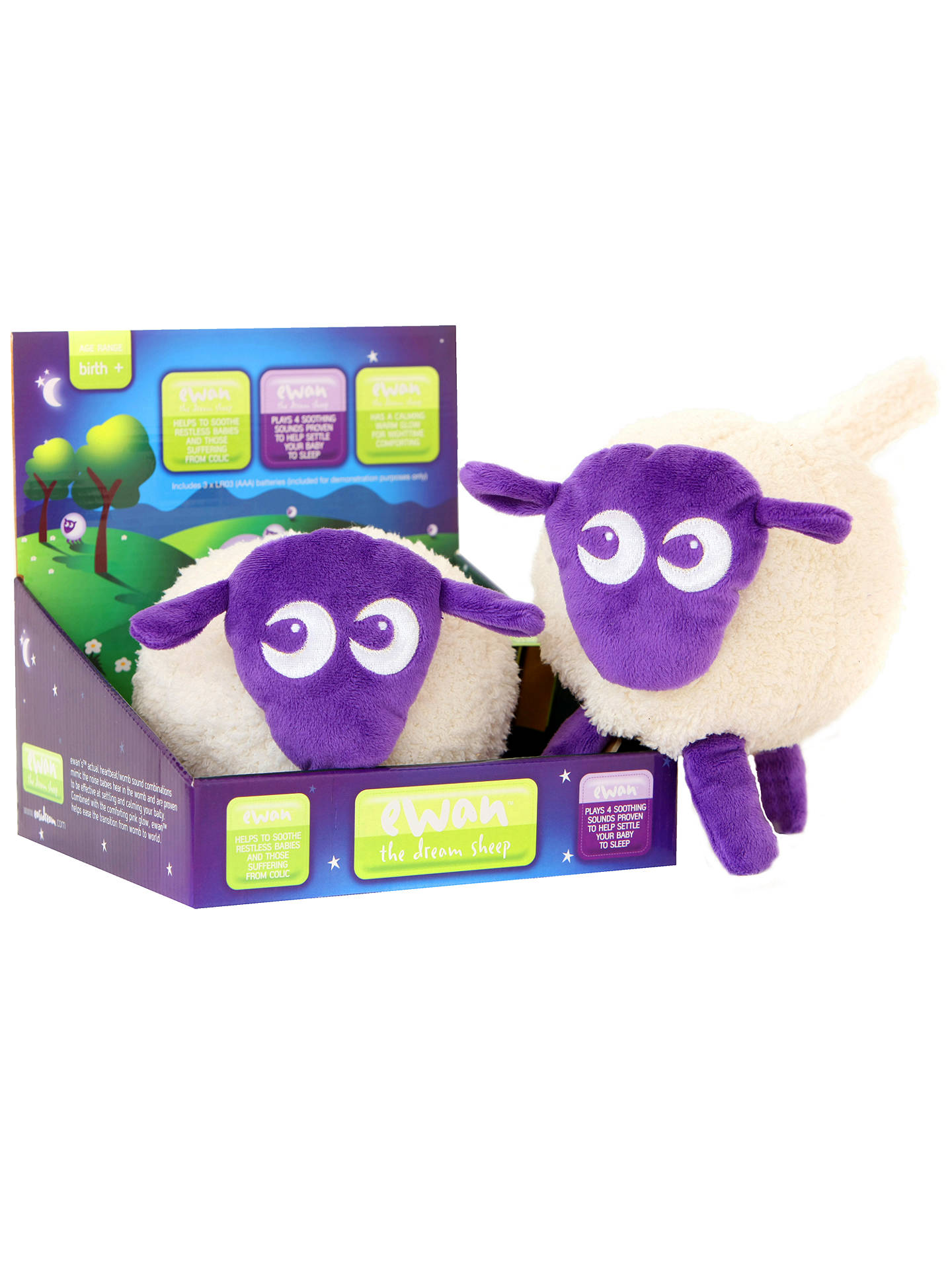 Buy Ewan the Dream Sheep, Purple Online at johnlewis.com