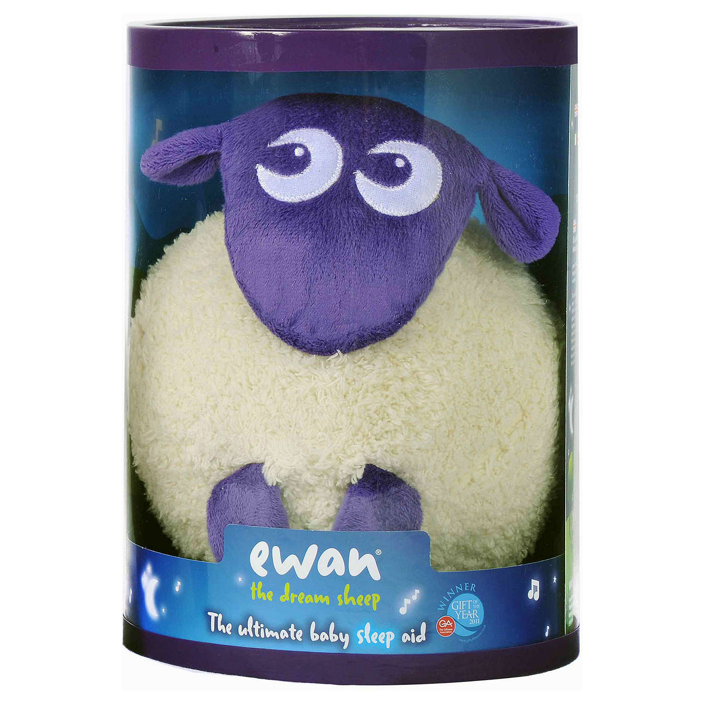 Ewan the Dream Sheep, Purple at John Lewis