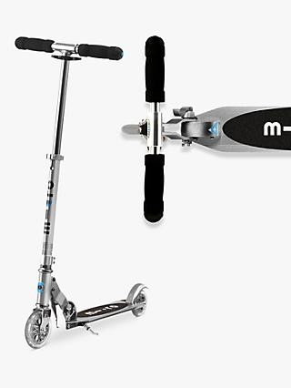 Micro Sprite Scooter, 5-12 years, Silver