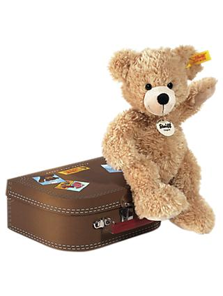 Steiff Fynn Teddy Bear and Suitcase Soft Toy
