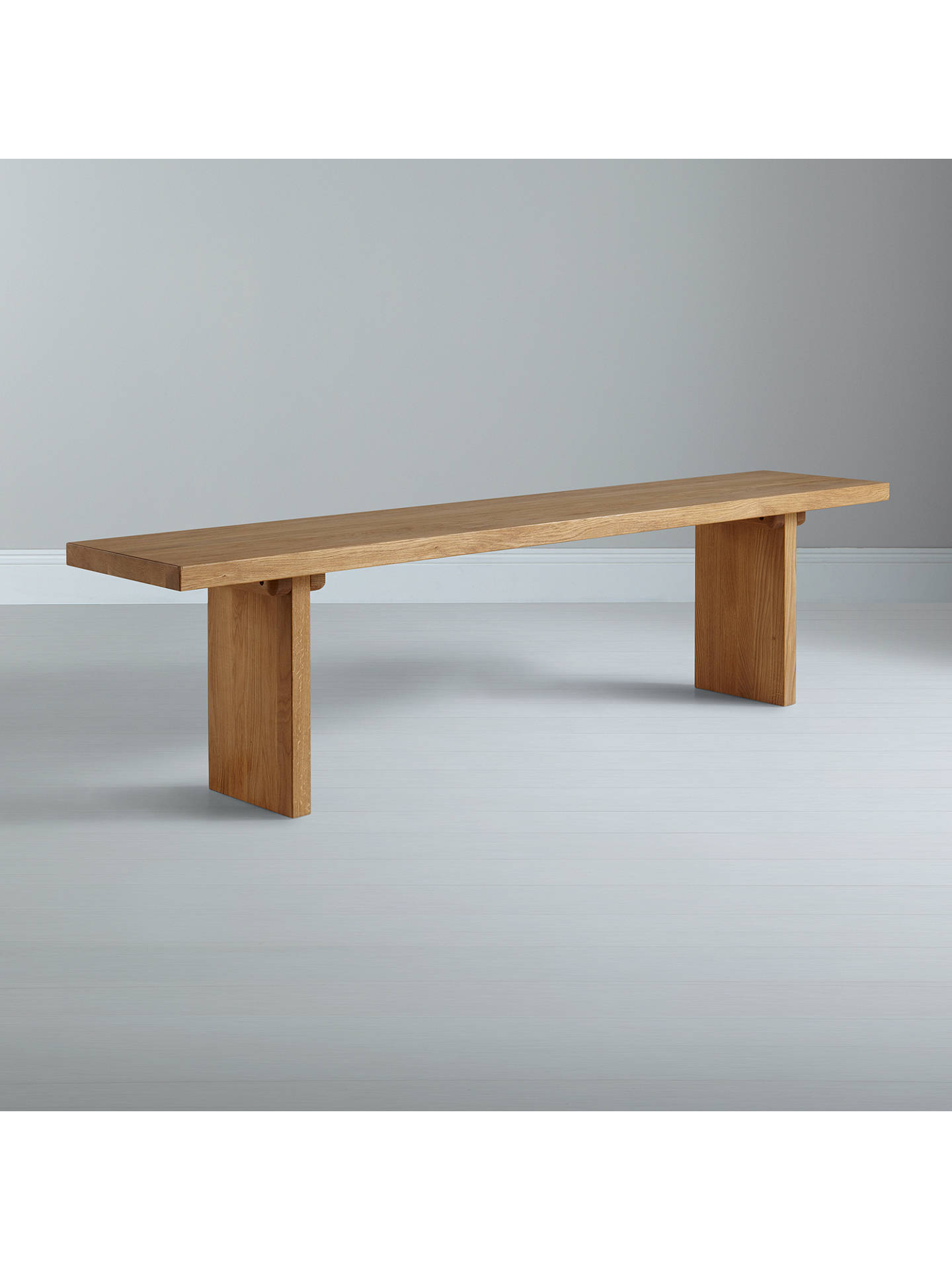 Buy John Lewis & Partners Henry 4-Seater Dining Bench, Oak Online at johnlewis.com