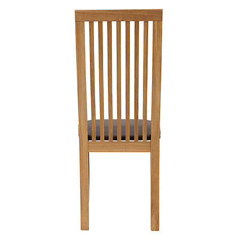 Buy John Lewis Henry Chair, Leather Seat Online at johnlewis.com