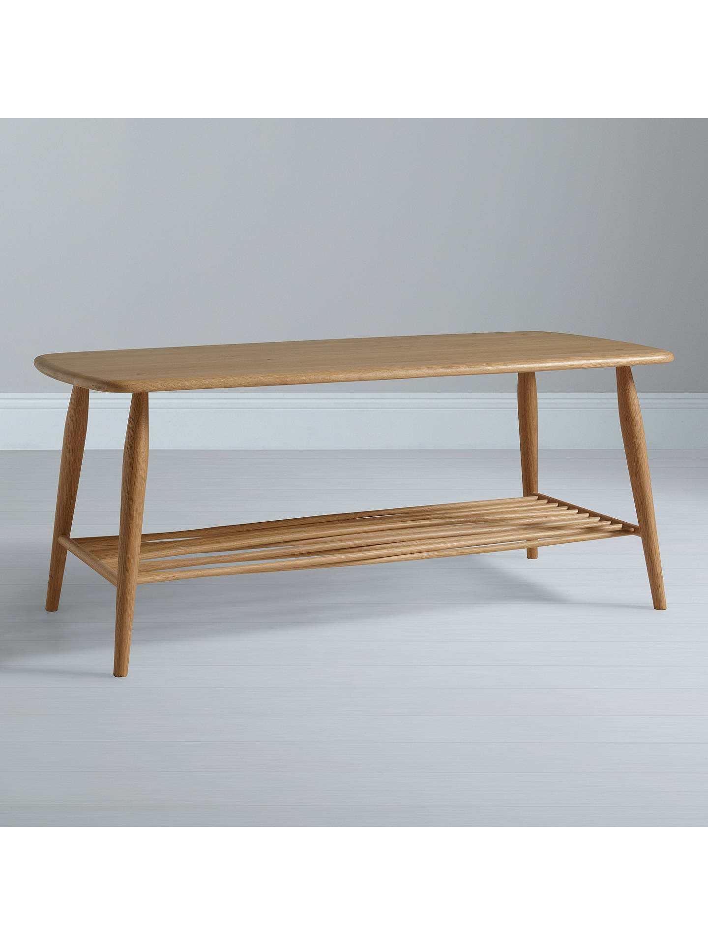 Surprising Ercol For John Lewis Chiltern Coffee Table Oak At John Camellatalisay Diy Chair Ideas Camellatalisaycom