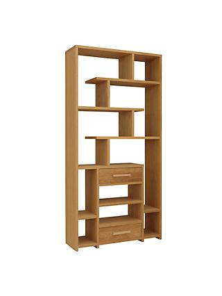 John Lewis Partners Henry 2 Drawer Bookcase