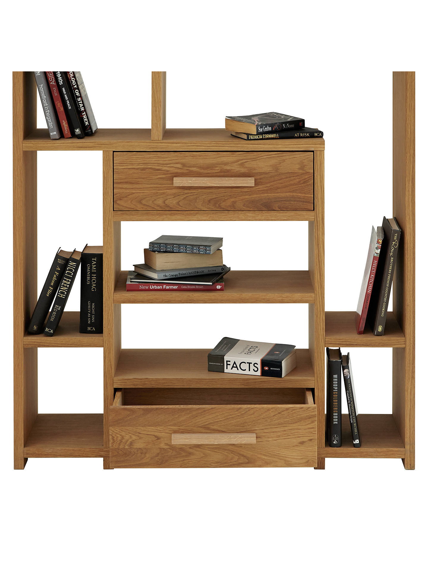 Buy John Lewis & Partners Henry 2 Drawer Bookcase Online at johnlewis.com