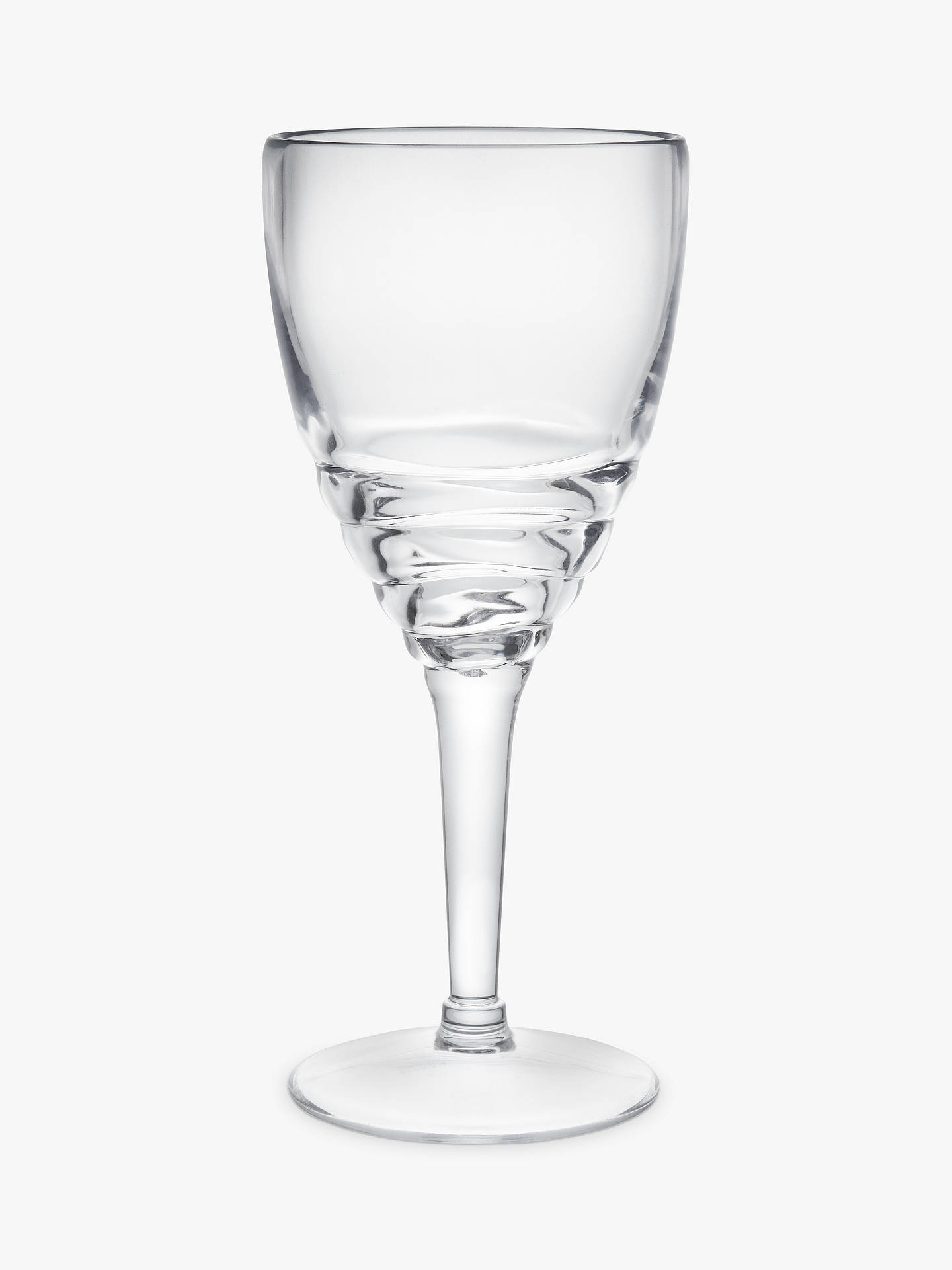 BuyJohn Lewis & Partners Wave Acrylic Picnic Wine Glass Online at johnlewis.com