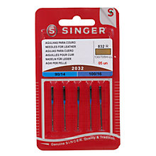 Buy Singer Sewing Machine Needles, 2032 Online at johnlewis.com
