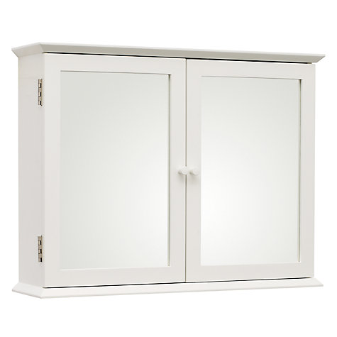 ... Buy John Lewis St Ives Double Mirrored Bathroom Cabinet Online At  Johnlewis.com ...