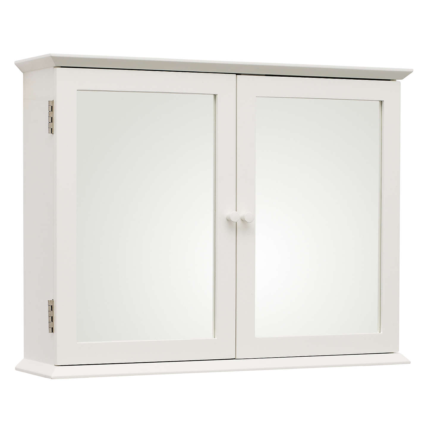John lewis st ives double mirrored bathroom cabinet at for Bathroom cabinets john lewis uk