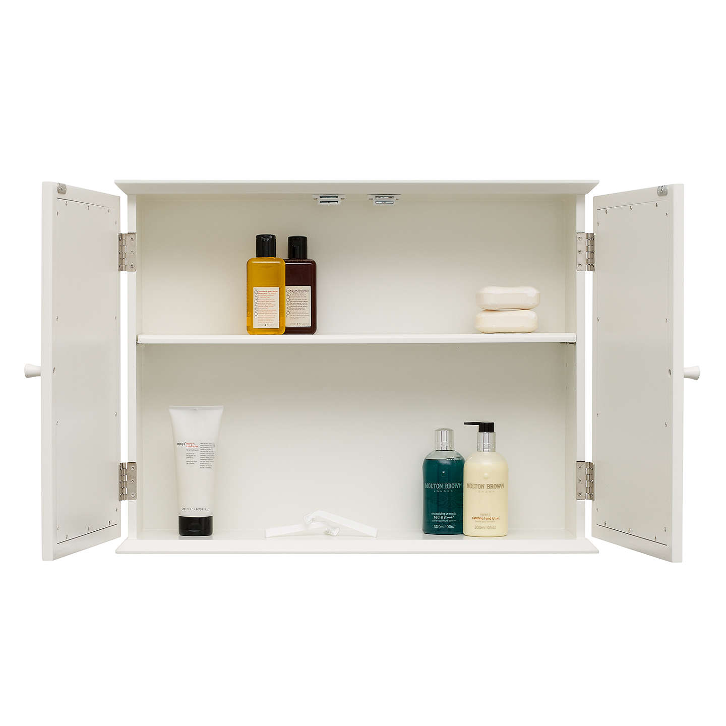Free Standing Kitchen Cabinets John Lewis: John Lewis St Ives Double Mirrored Bathroom Cabinet At
