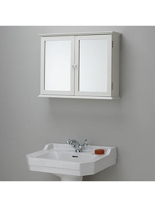 John Lewis Partners St Ives Double Mirrored Bathroom Cabinet At John Lewis Partners