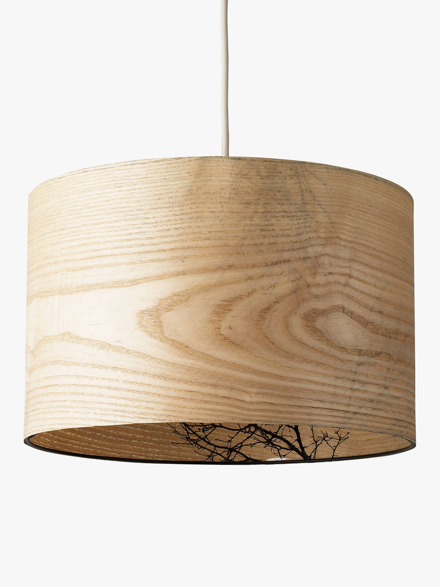 John Lewis Partners Woodland Drum Shade At