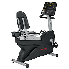 Buy Life Fitness New Club Series Recumbent Lifecycle Exercise Bike Online at johnlewis.com