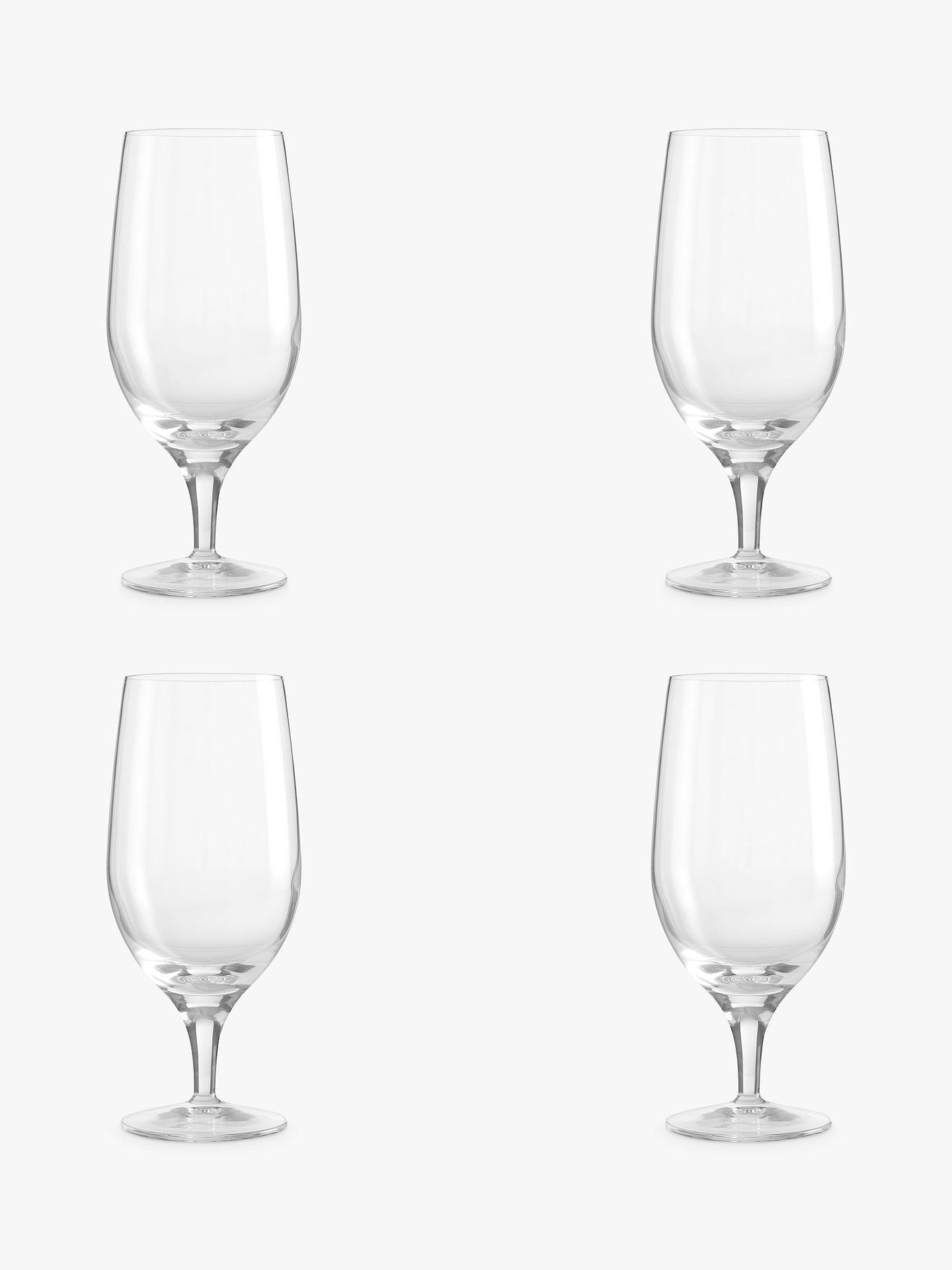 BuyJohn Lewis & Partners Michelangelo Beer Glass, Set of 4, 575ml Online at johnlewis.com