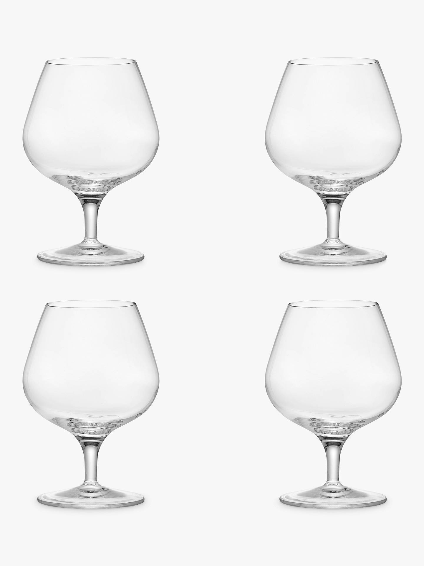 BuyJohn Lewis & Partners Michelangelo Brandy Glass, Set of 4, 395ml Online at johnlewis.com