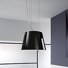 Buy Elica Charm Cooker Hood, Black Online at johnlewis.com