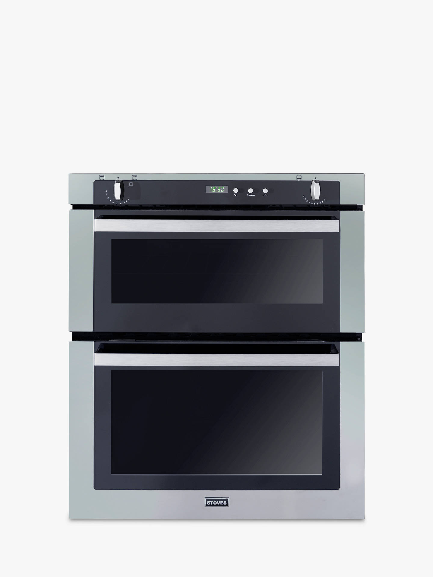 stoves sgb700ps double built under gas oven stainless. Black Bedroom Furniture Sets. Home Design Ideas