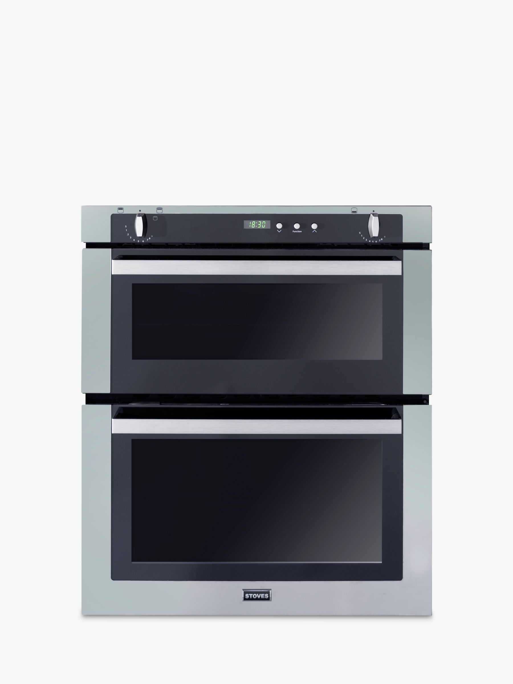 Stoves Stoves SGB700PS Double Built-Under Gas Oven, Stainless Steel