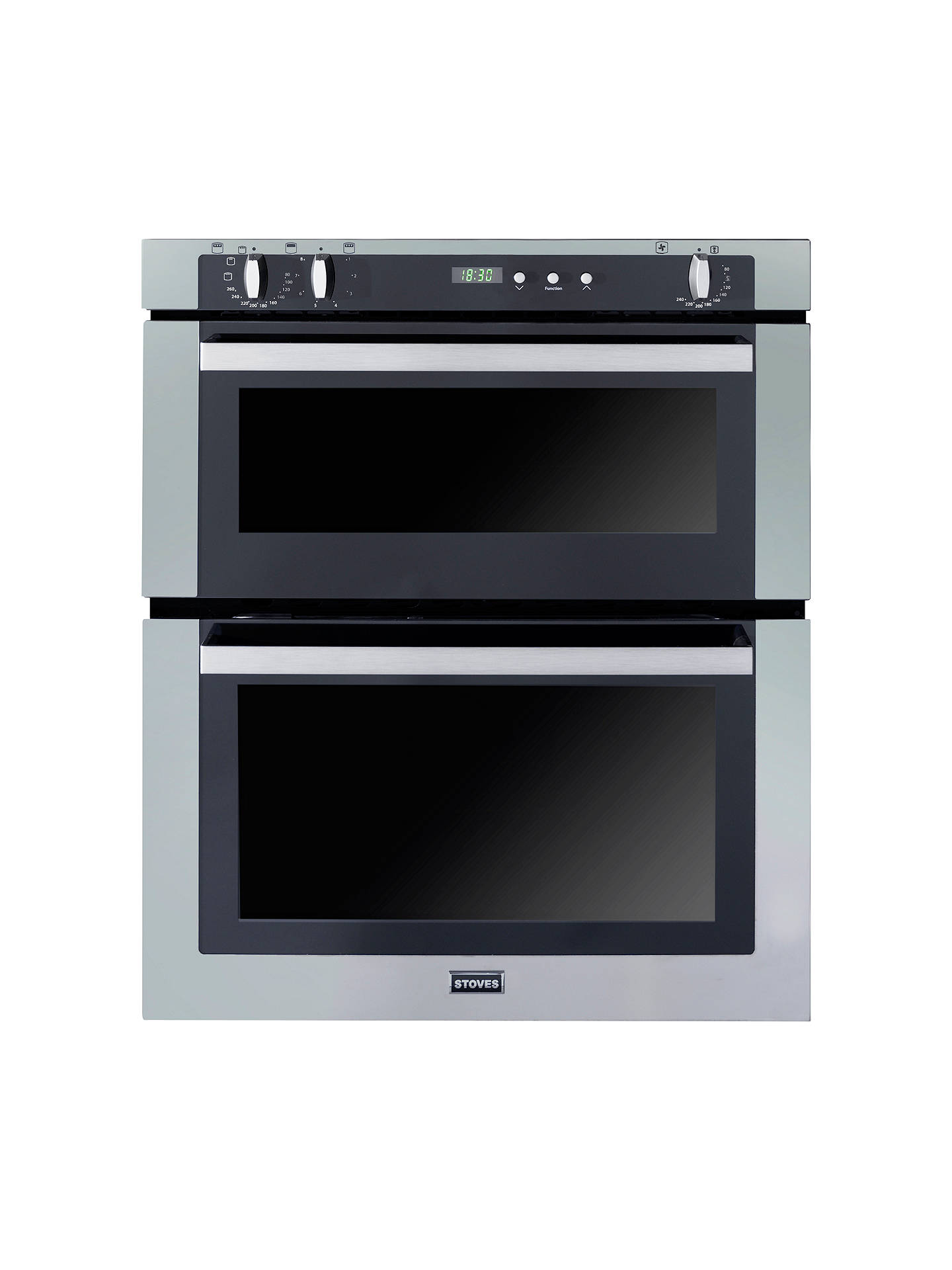 stoves seb700fps double built under electric oven stainless steel