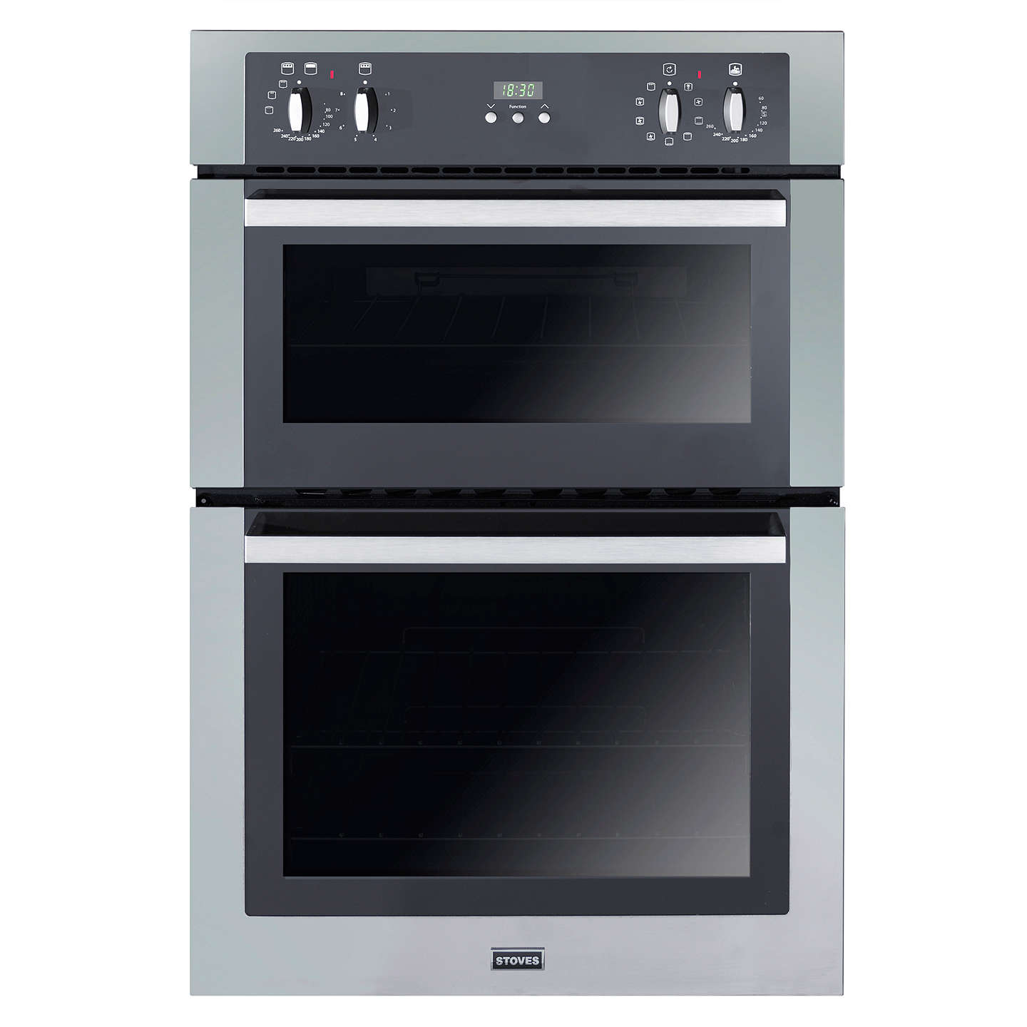 stoves seb900mfs double electric oven stainless steel at. Black Bedroom Furniture Sets. Home Design Ideas