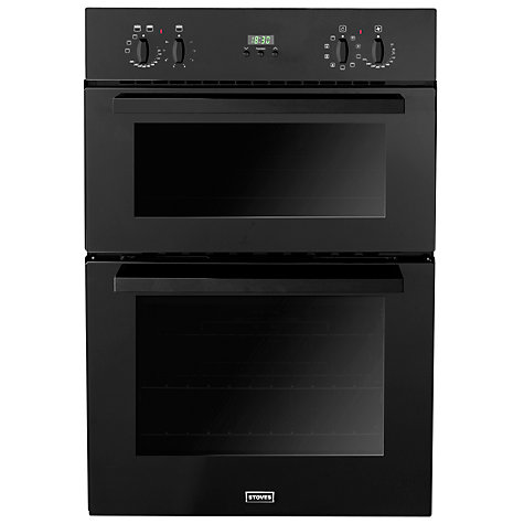 Buy Stoves SEB900MFS Built-In Double Electric Oven, Black Online at johnlewis.com