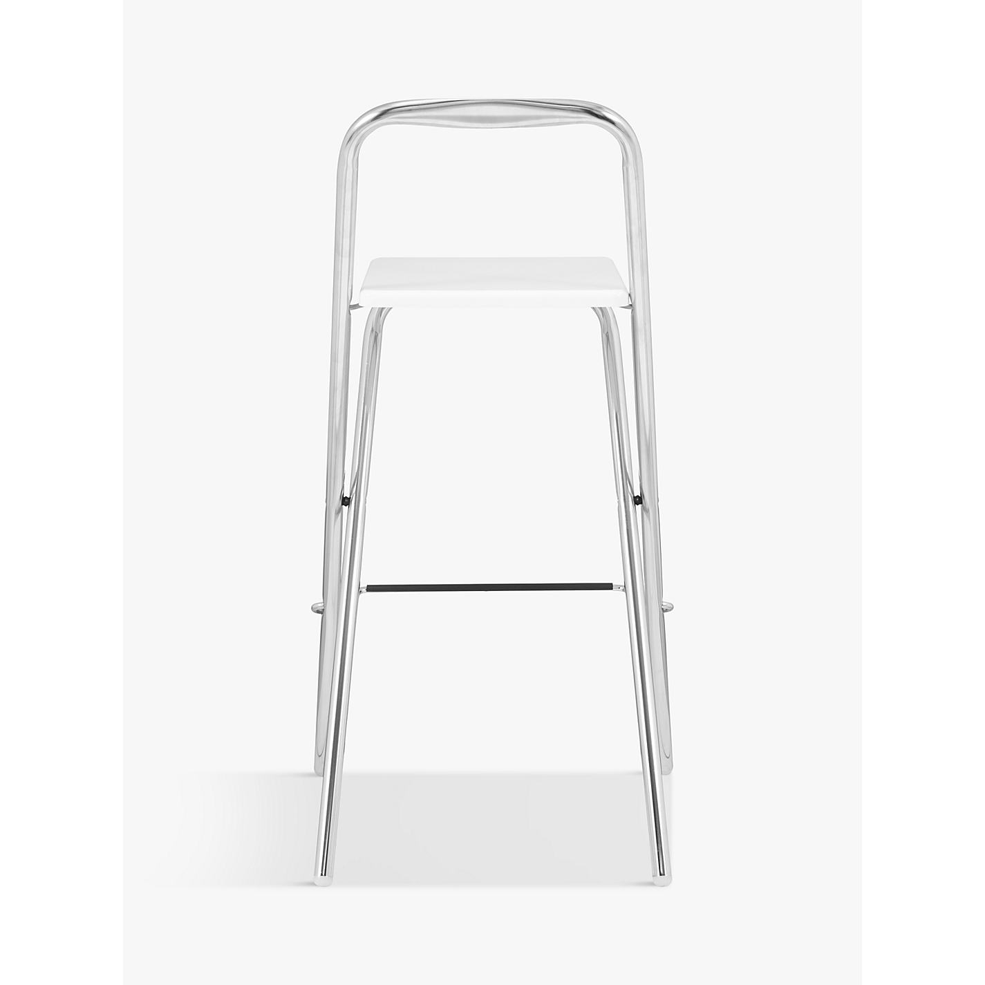 Buy John Lewis Verona Folding Bar Chair