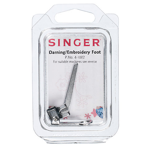Buy Singer 4-1002 Darning / Embroidery Foot | John Lewis : singer quilting foot - Adamdwight.com