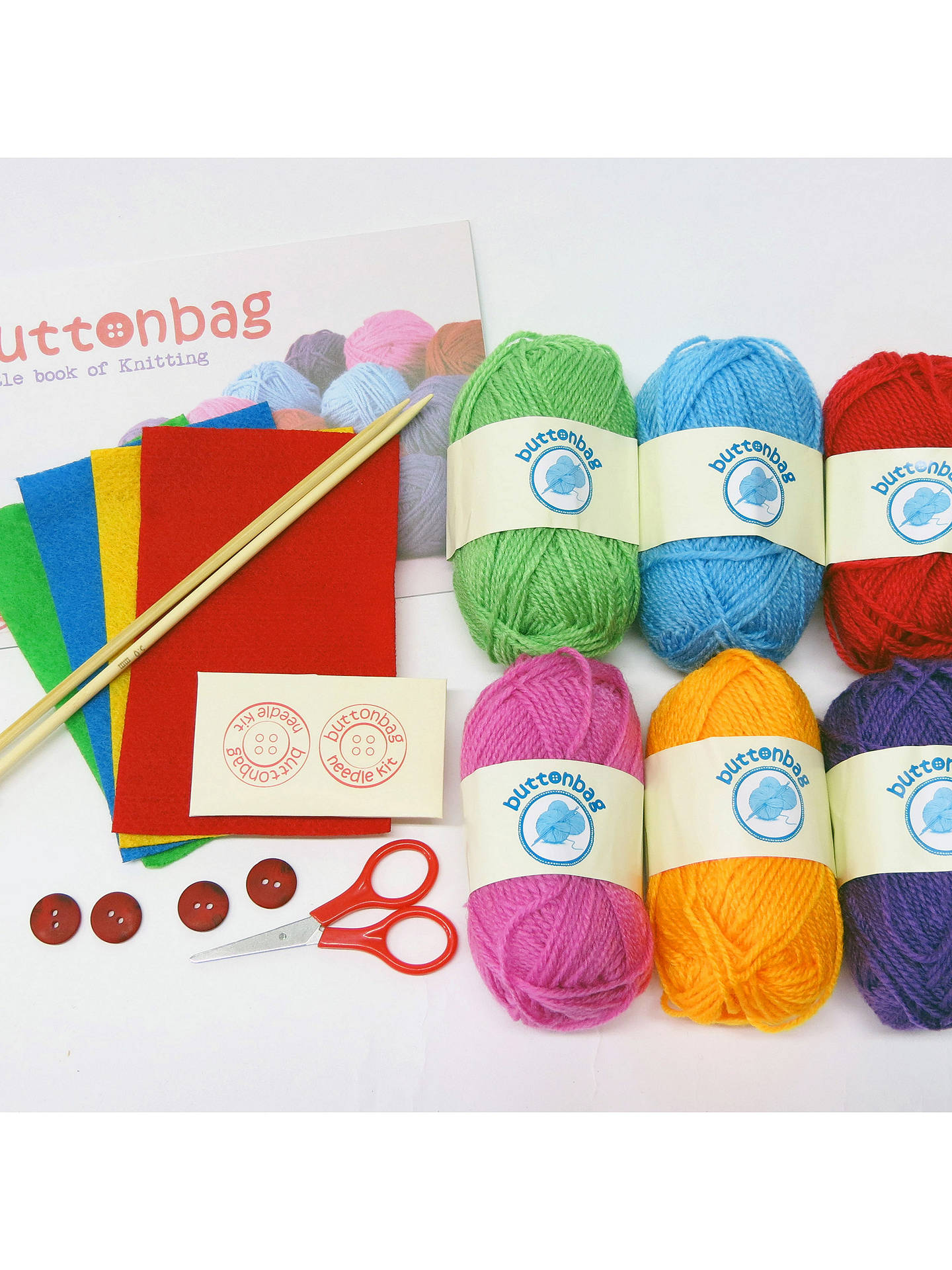 Buy Buttonbag Knitting Kit Online at johnlewis.com