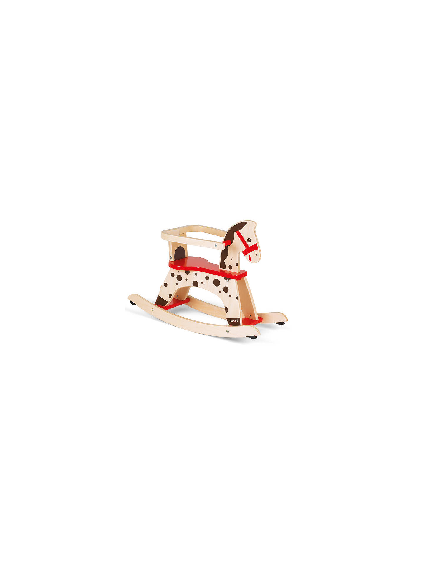 BuyJanod Caramel Rocking Horse Online at johnlewis.com
