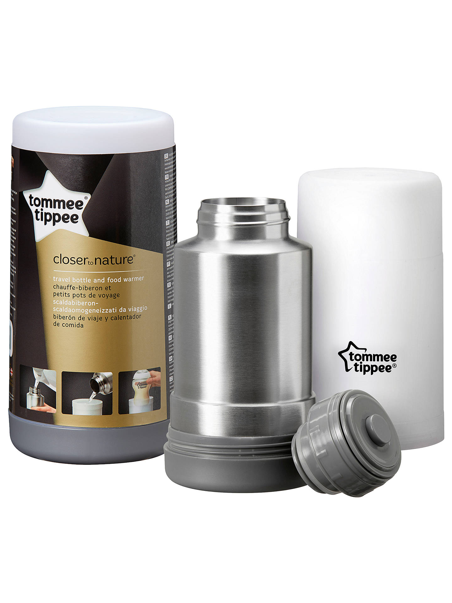 Buy Tommee Tippee Close to Nature Travel Bottle Warmer Online at johnlewis.com