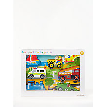 Buy John Lewis Transport Puzzle Online at johnlewis.com