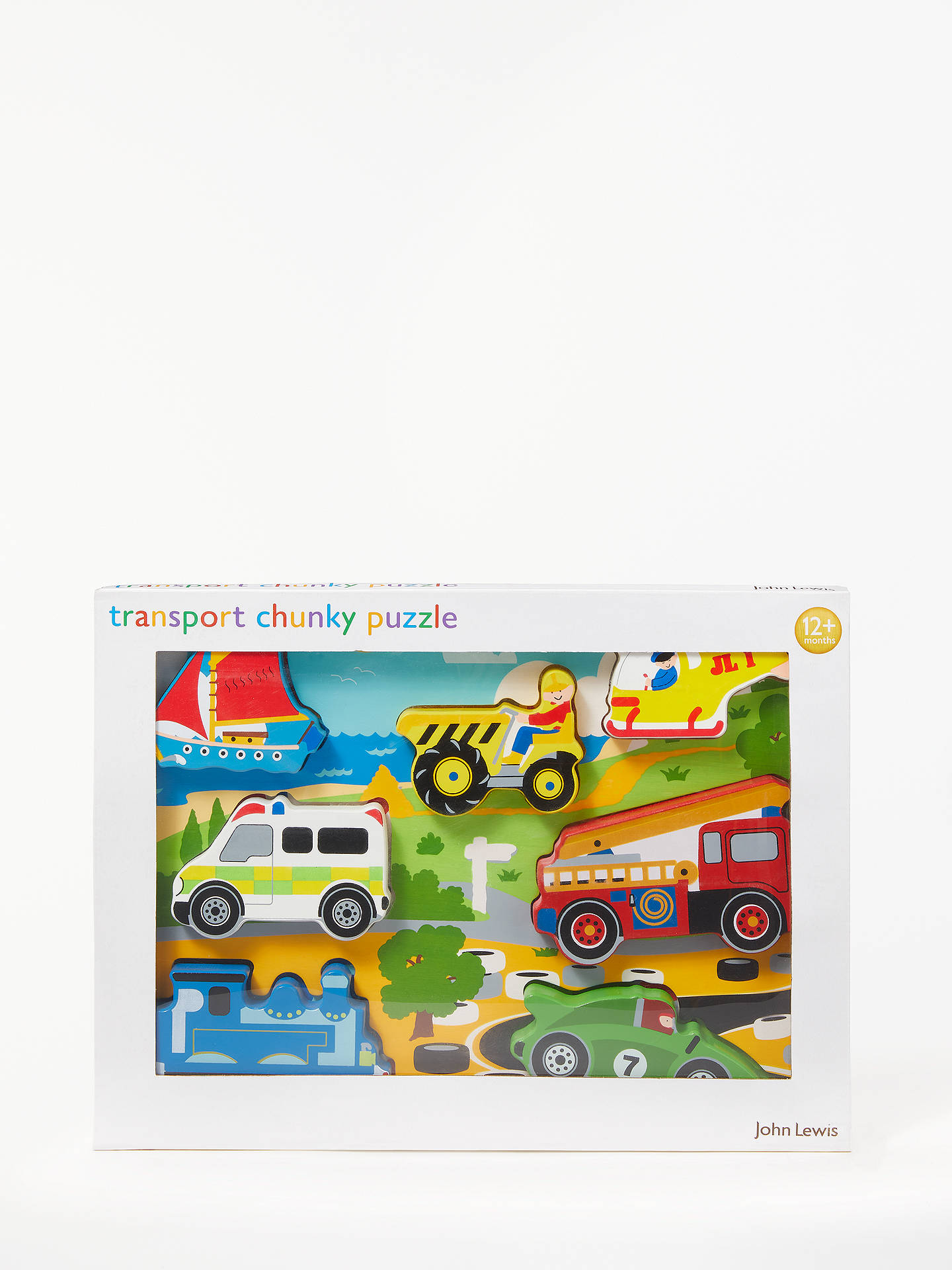 BuyJohn Lewis & Partners Transport Puzzle Online at johnlewis.com