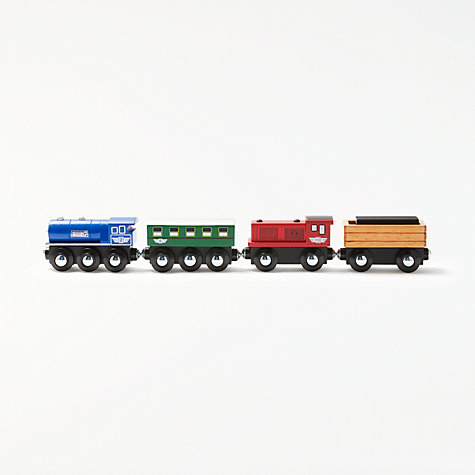 Buy John Lewis Train Engine and Truck Set Online at johnlewis.com