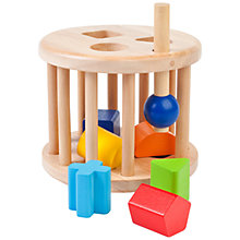 Buy John Lewis Caged Shape Sorter Online at johnlewis.com