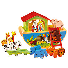 Buy John Lewis Wooden Noah's Ark Set Online at johnlewis.com