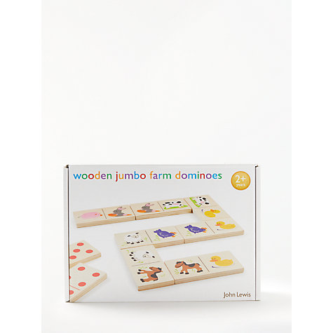 Buy John Lewis Jumbo Farm Dominoes Online at johnlewis.com