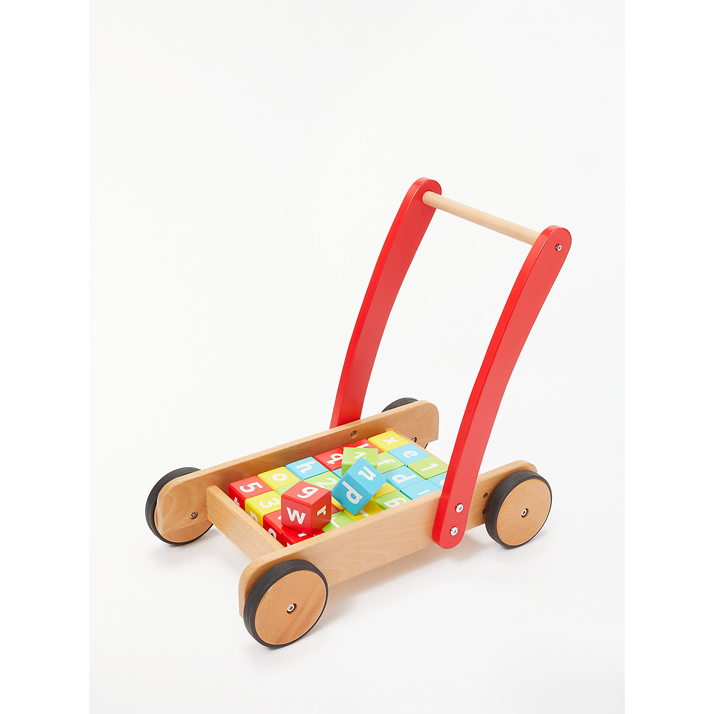 Buy john lewis wooden baby walker and bricks john lewis buy john lewis wooden baby walker and bricks online at johnlewis negle Image collections