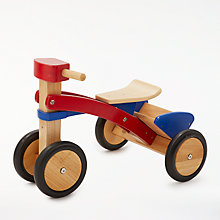 Buy John Lewis Wooden Trike Online at johnlewis.com